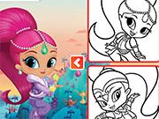 Genies Pencil Coloring