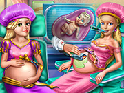 Goldie Princesses Pregnant Check-up