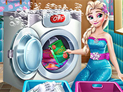 Ice Queen Laundry Day