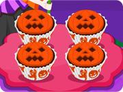 Jack O Lantern Halloween Cupcake