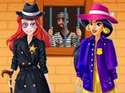 لعبة ياسمين وآرييل الشرطيين