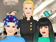 Kendall Jenner And Friends Hair Salon