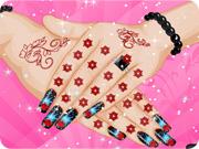 Lovely Manicure for Rachel