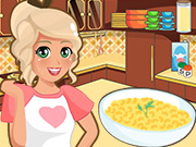 Mia Cooking Mac and Cheese