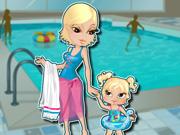 Mother Daughter Waterpark