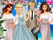 لعبة فساتين زفاف أوليفيا
