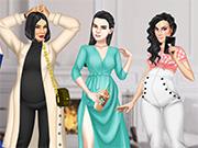 Pregnant Celebrity Sisters Dress Up