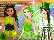 Princess St. Patricks Party