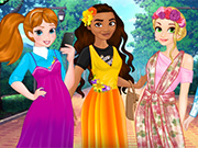 Princess T-shirts Dresses