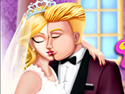Princess Wedding Kiss