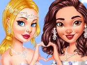 Princesses as Gorgeous Bridesmaids
