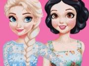 Princesses Brunette vs. Blonde