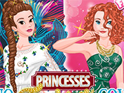 Princesses Fashion Wars Boho vs. Gowns