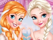 Princesses Glittery Bridesmaids