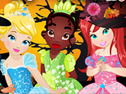 Princesses Halloween Party