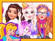 Princesses Ice Skating Party