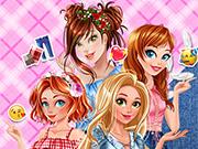 Princesses Patchwork Jeans