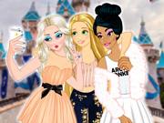 Princesses vs. Princes Selfie Battle