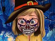 Riley Halloween Face Art