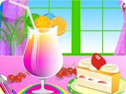 Smoothie Jellies with Ice Cream