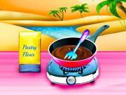 Spumoni Ice Cream Eclairs