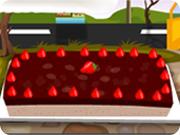 Strawberry Cheese Brunch Cake