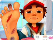 Subway Surfer Foot