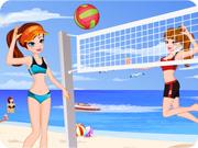 Summer Beach Volleyball
