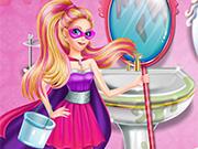 Super Barbie Groom the Room
