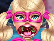 Super Barbie Sister Throat Doctor