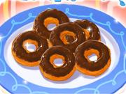 Sweet Chocolate Doughnuts