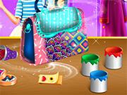 Teen Girl Bag Decor