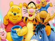 Winnie the Pooh Spot 6 Differences